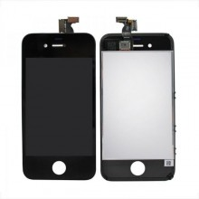 Display LCD compatibil iPhone 4, NEGRU