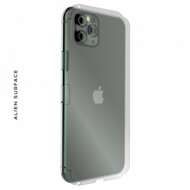 FOLIE ALIEN SURFACE HD, Apple iPhone 11 PRO, PROTECTIE SPATE+LATERALE + ALIEN FIBER CADOU