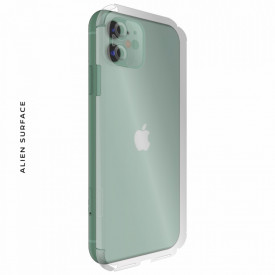 FOLIE ALIEN SURFACE HD, Apple iPhone 11, PROTECTIE SPATE+LATERALE + ALIEN FIBER CADOU