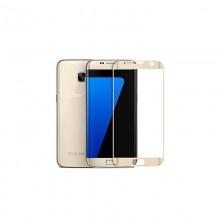 Folie de sticla 3D aurie compatibila cu Samsung Galaxy A5 2016 ( GOLD )