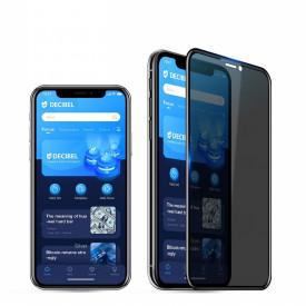 Folie de sticla 5D Apple iPhone 11 PRO MAX, Privacy Glass Elegance Luxury, folie securizata duritate 9H