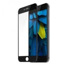 Folie de sticla 5D Apple iPhone 8 Plus, cu margini colorate Negru