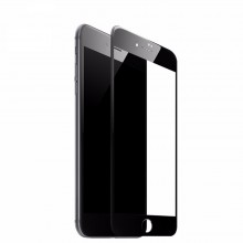 Folie de sticla Apple iPhone 7, Elegance Luxury margini colorate Black