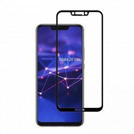 Folie de sticla Huawei MATE 20 Lite, MyStyle 10D FULL GLUE Negru