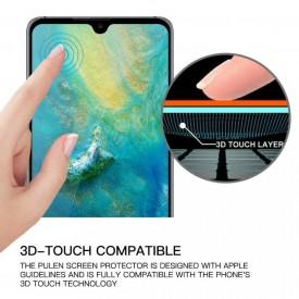 Folie de sticla Huawei P30 Lite, 9D FULL GLUE Negru