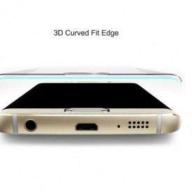 Folie de sticla Samsung Galaxy S7 Edge, Elegance Luxury margini curbate, DIAMOND CLEAR