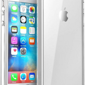 Husa Apple iPhone 5/5S/SE, MyStyle TPU slim transparent