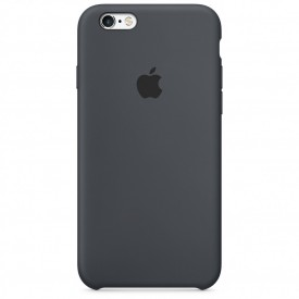 Husa Apple iPhone 6/6S, Silicon antisoc, Charcoal Gray