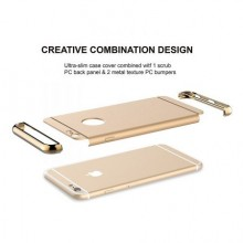 Husa Apple iPhone 6 Plus/6S Plus, Elegance Luxury 3in1 Gold