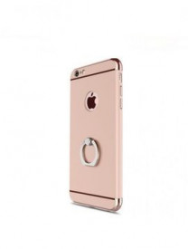Husa Apple iPhone SE2, Elegance Luxury 3in1 Ring Rose-Gold