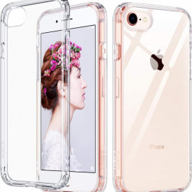 Husa Apple iPhone SE2, Silicon TPU 2.0mm slim Transparenta