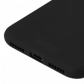 Husa Apple iPhone X, Elegance Luxury, Silicon TPU Slim Antisoc NEGRU