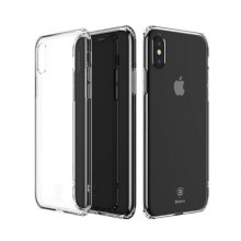 Husa Apple iPhone X, TPU slim transparent