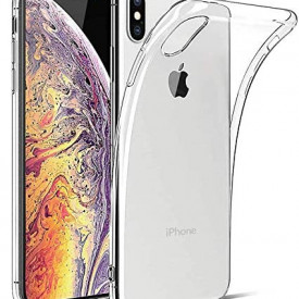 Husa Apple iPhone XS MAX, Silicon TPU slim Transparenta