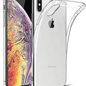 Husa Apple iPhone XS MAX, Silicon TPU slim Transparenta