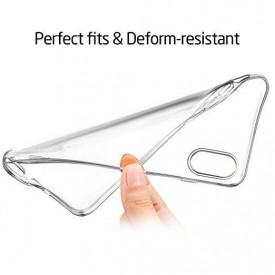 Husa Apple iPhone XS, Silicon TPU slim Transparenta