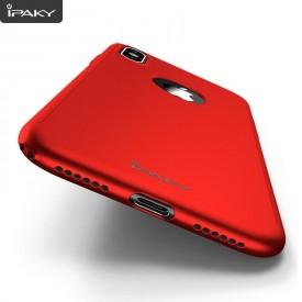 Husa de protectie pentru Apple iPhone XS MAX, iPaky Pro Rosu Original Case, acoperire completa 360 grade cu folie de protectie gratis
