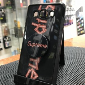 Husa de protectie Samsung Galaxy J5 2016, Supreme Negru-Rosu