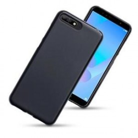 Husa pentru Huawei Y6 2018, Perfect Fit , Silicon TPU Negru