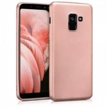 Husa Samsung Galaxy A8 2018, Elegance Luxury slim antisoc Rose-Gold