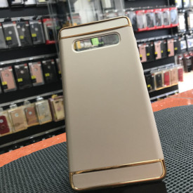 Husa Samsung Galaxy S10 , Elegance Luxury 3in1 Gold