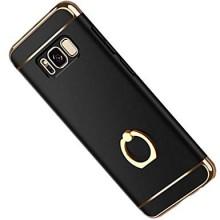 Husa Samsung Galaxy S8, Elegance Luxury 3in1 Ring Negru