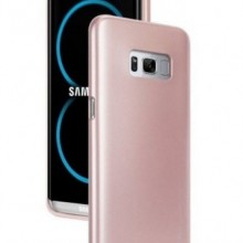 Husa Samsung Galaxy S8, slim antisoc Rose-Gold