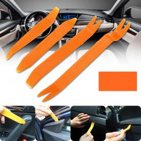 Kit profesional pentru demontare panouri auto, plafoniere, trimuri, plastice auto
