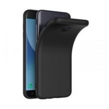 Pachet husa Elegance Luxury slim antisoc Black pentru Samsung Galaxy J7 2017 cu folie de protectie gratis