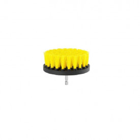 Perie rotunda medie pentru Mocheta & Uz Caznic / Profesional - Detailing Carpet Brush cu Adaptor Bormasina