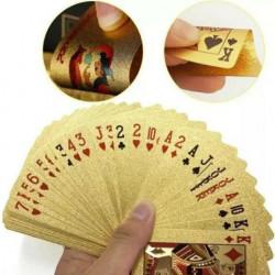 Carti de joc Aurii Casino Poker, aspect Euro €