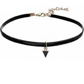 Choker Fashion Black Delux - Colier elegant pentru gat