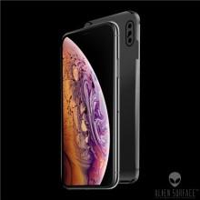 FOLIE ALIEN SURFACE HD, iPhone XS MAX, FATA,SPATE,LATERALE + ALIEN FIBER CADOU