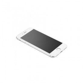Folie de sticla 3D Apple iPhone 7/8, Elegance Luxury margini colorate White