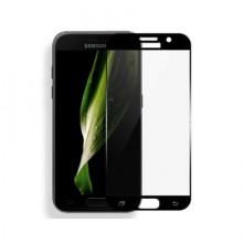 Folie de sticla 3D neagra compatibila cu Samsung Galaxy A5 2016 ( BLACK )