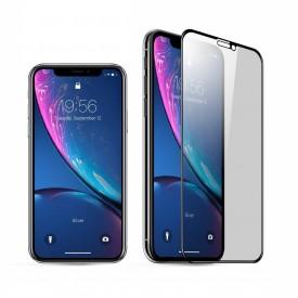 Folie de sticla Apple iPhone 11, 5D FULL GLUE Negru