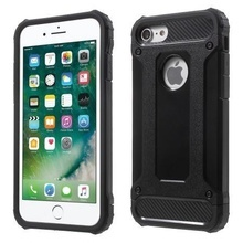 Husa Apple iPhone 6/6S, Elegance Luxury armour strong Black