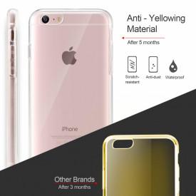 Husa Apple iPhone 6 Plus/6S Plus, FullBody Elegance Luxury 360º ultra slim Silicon TPU, acoperire fata spate