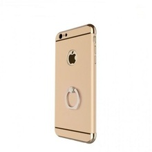 Husa Apple iPhone 7, Elegance Luxury 3in1 Ring Gold