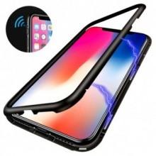Husa Apple iPhone 7 PLUS Magnetica 360 grade Negru , MyStyle Perfect FIt cu spate de sticla securizata premium