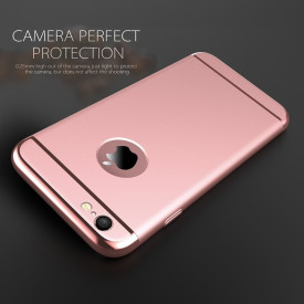 Husa Apple iPhone 7 Plus, Perfect Fit 3in1 Rose-Gold