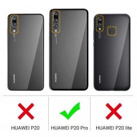 Husa pentru Huawei P20 PRO, Perfect Fit , Silicon TPU Negru