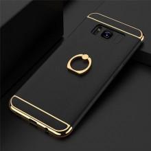 Husa Samsung Galaxy A5 2017, Elegance Luxury 3in1 Ring Negru