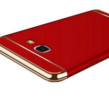 Husa Samsung Galaxy A5 2017, Elegance Luxury 3in1 Rosu