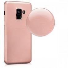 Husa Samsung Galaxy A8 2018, slim antisoc Rose-Gold