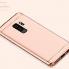 Husa Samsung Galaxy S9 Plus, Elegance Luxury 3in1 Rose-Gold