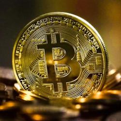 Moneda Bitcoin de Colectie & Suvenir - Criptomoneda Aurie
