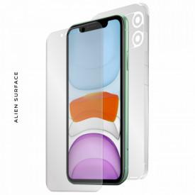 FOLIE ALIEN SURFACE HD, Apple iPhone 11, PROTECTIE FATA,SPATE,LATERALE + ALIEN FIBER CADOU
