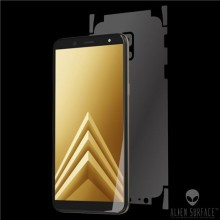 Folie Alien Surface HD, Samsung Galaxy A6 (2018), protectie spate,lateral + Alien Fiber Cadou