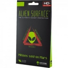 Folie Alien Surface HD, Samsung GALAXY A6 Plus (2018), protectie fata + Alien Fiber Cadou